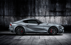 Toyota Supra 2020 Gray Beautiful Wallpaper