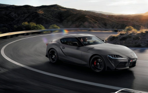 Toyota Supra 2020 Gray Full HD Wallpapers