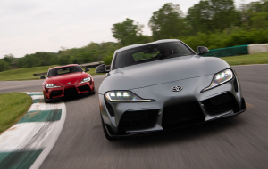 Toyota Supra 2020 Gray In HQ