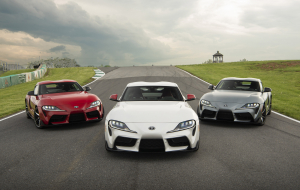 Toyota Supra 2020 Gray Photos