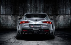 Toyota Supra 2020 Gray Pictures