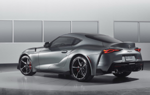 Toyota Supra 2020 Green Beautiful Wallpaper