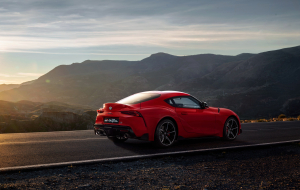 Toyota Supra 2020 Green Full HD Wallpapers