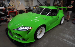 Toyota Supra 2020 Green In HQ
