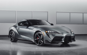 Toyota Supra 2020 Green Photos