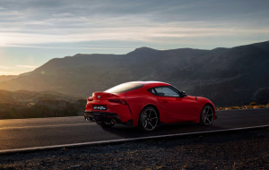Toyota Supra 2020 Red 4K Wallpapers