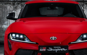 Toyota Supra 2020 Red Full HD Wallpapers