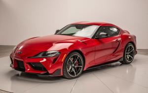 Toyota Supra 2020 Red Images