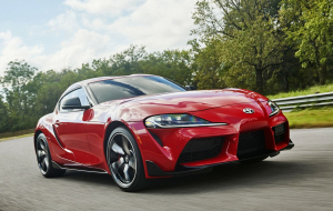 Toyota Supra 2020 Red Pictures