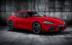 Toyota Supra 2020 Red Wallpapers HD