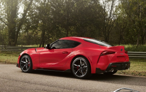 Toyota Supra 2020 Red Wallpapers HQ