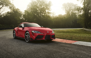Toyota Supra 2020 Red Wallpapers For Android
