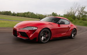 Toyota Supra 2020 Red Wallpapers For IPhone
