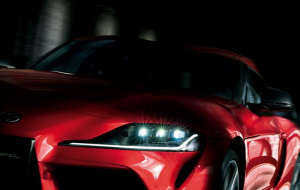 Toyota Supra 2020 Red Wallpapers Pack