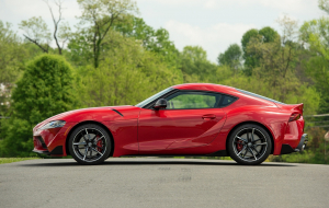 Toyota Supra 2020 Red Widescreen