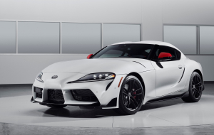 Toyota Supra 2020 Silver Full HD Wallpapers