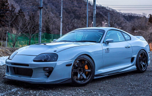 Toyota Supra 2020 Silver Photos