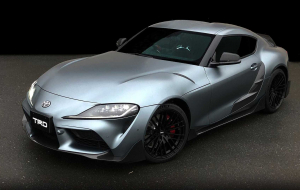 Toyota Supra 2020 Silver Pictures