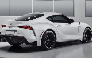 Toyota Supra 2020 Silver Wallpapers HD