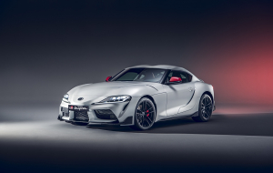 Toyota Supra 2020 White Widescreen