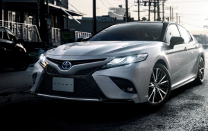 Toyota Camry 2020 Black Computer Wallpaper