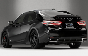 Toyota Camry 2020 Black High Resolution