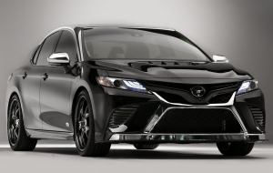 Toyota Camry 2020 Black Pictures