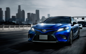 Toyota Camry 2020 Blue Full HD Wallpapers