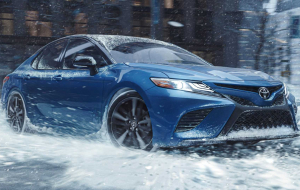 Toyota Camry 2020 Blue Wallpapers HD