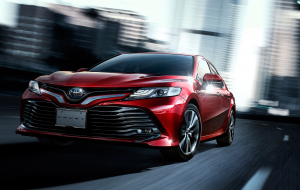 Toyota Camry 2020 Red 4K Wallpapers