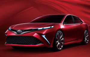 Toyota Camry 2020 Red Computer Wallpaper