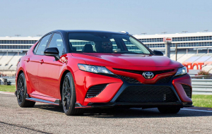 Toyota Camry 2020 Red Gallery