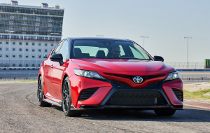 Toyota Camry 2020 Red In HQ