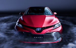 Toyota Camry 2020 Red Wallpapers HD