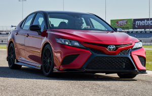 Toyota Camry 2020 Red Wallpapers Pack