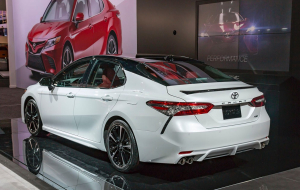 Toyota Camry 2020 White Beautiful Wallpaper