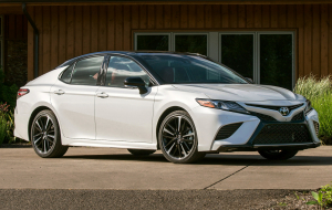Toyota Camry 2020 White Full HD Wallpapers