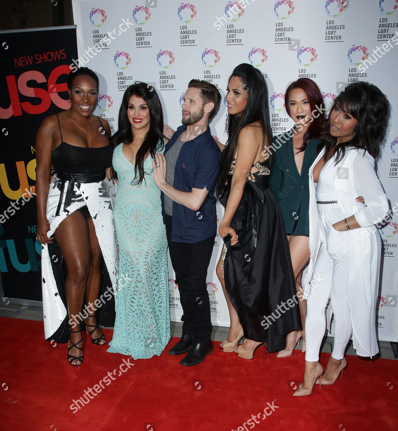 'Transcendent' TV Series Premiere Party, LGBT Center, Los Angeles, America 28 Sep 2015