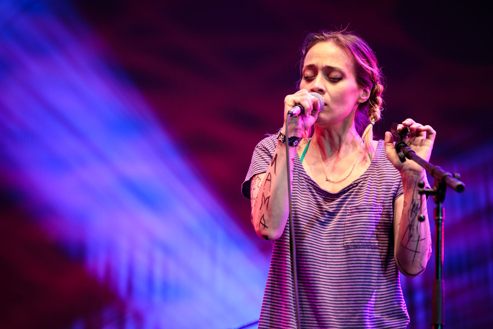 Fiona Apple At Damrosch Park Aug 8, 2015