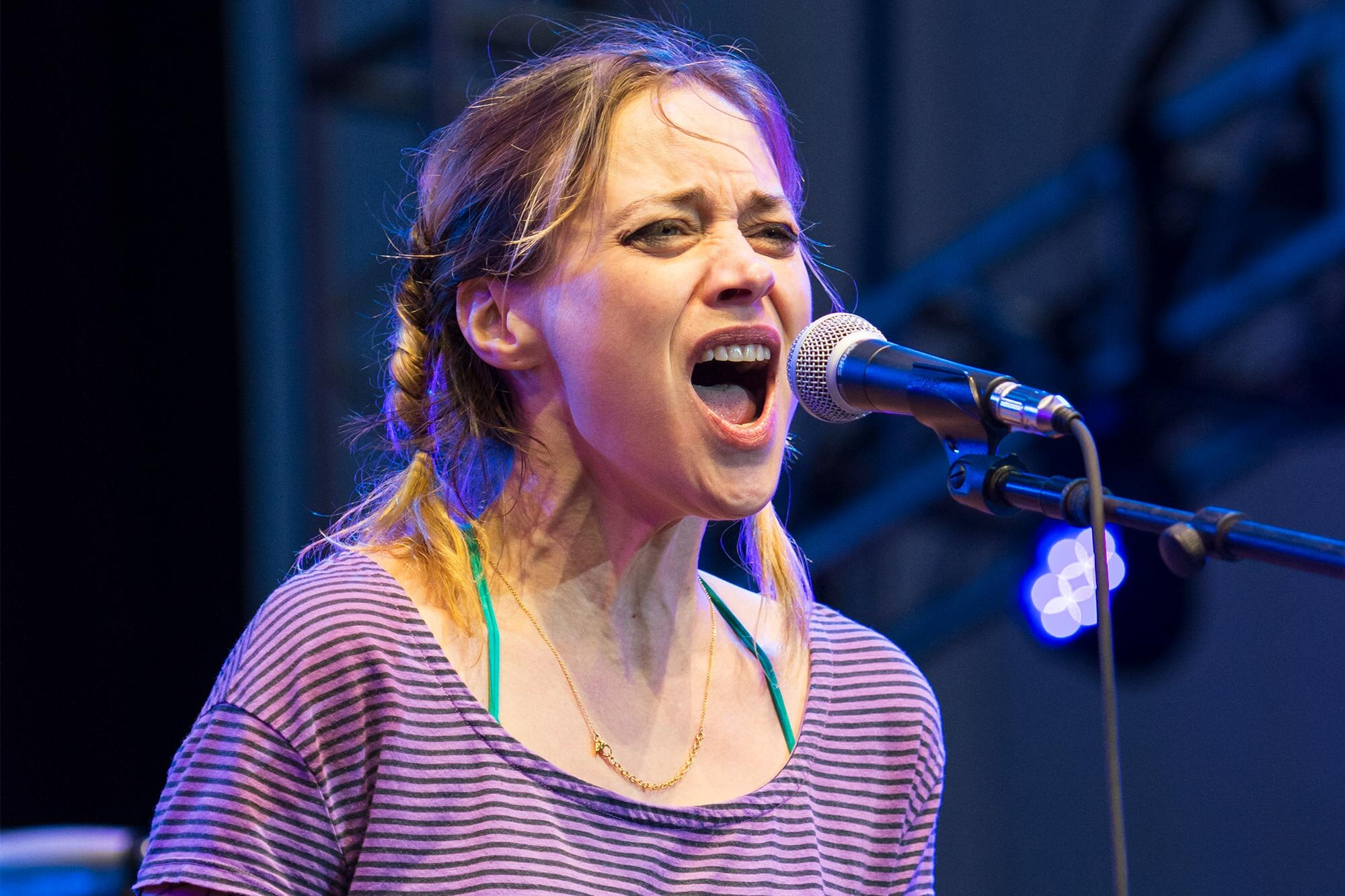 Fiona Apple & Watkins Family Hour Band At AmericanaFest NYC