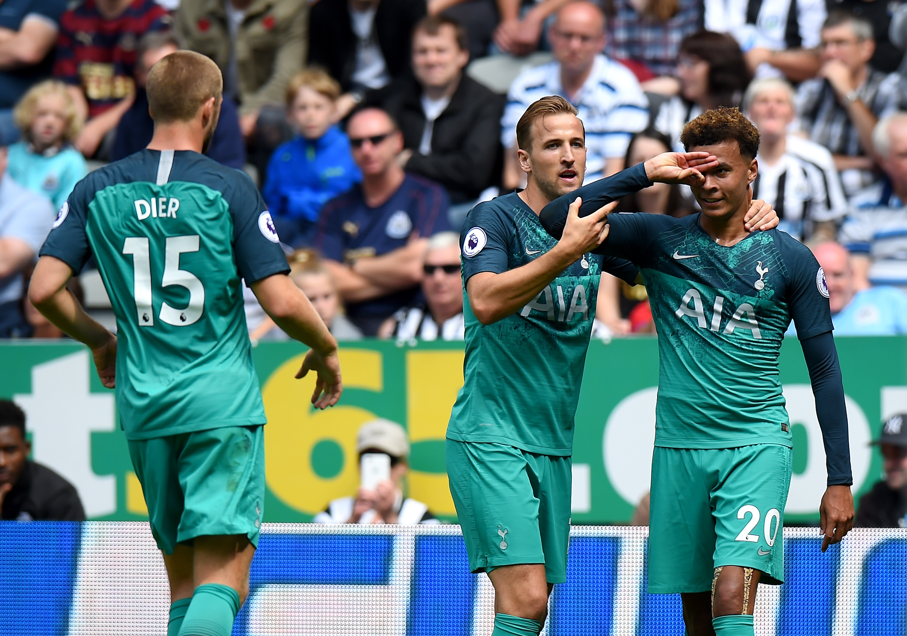 Newcastle United V Tottenham Hotspur Premier League