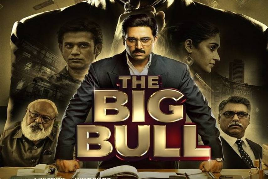 Bollywood Biopic Drama The BIg Bull Release Date, Story ,Trailer and Other Details