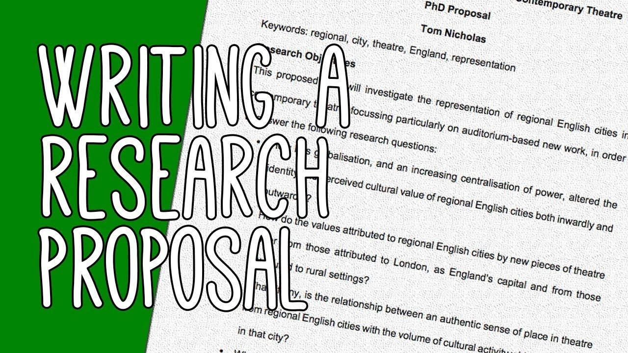 How to Compose a Research Proposal for an Essay